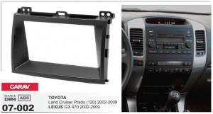 Переходная рамка Toyota Land Cruiser Prado 120 Carav 07-002
