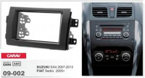 Переходная рамка Fiat Sedici Carav 09-002