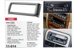 Переходная рамка Dodge Caravan, Durango, Neon, RAM Carav 11-014