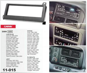 Переходная рамка Dodge Caravan, Durango, Neon, RAM Carav 11-015