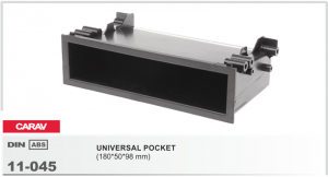 Универсальный карман 1DIN Carav 11-045