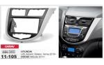 Переходная рамка Hyundai Accent, Solaris, i-25, Verna Carav 11-105