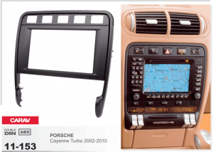 Переходная рамка Porsche Cayenne Turbo CARAV 11-153