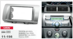 Переходная рамка Daihatsu Materia, Coo Carav 11-198