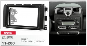 Переходная рамка Smart ForTwo Carav 11-260