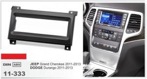 Переходная рамка Jeep Grand Cherokee Carav 11-333