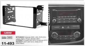 Переходная рамка Mitsubishi Outlander, ASX, Lancer, Pajero, Shogun, Montero Carav 11-493