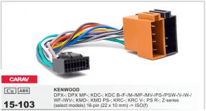 Разъем для магнитолы Kenwood Carav 15-103