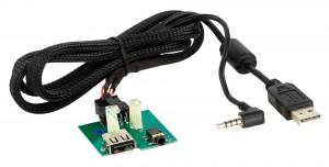 Адаптер для штатных USB/AUX-разъемов KIA ACV 44-1180-002
