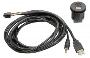 Адаптер для штатных USB/AUX-разъемов Nissan ACV 44-1213-001