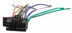 Разъем для магнитолы Sony ACV 456008/1