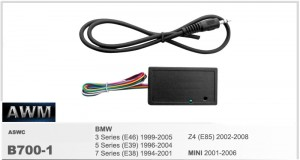 Адаптер кнопок BMW 3 Series, 5 Series, 7 Series, Z4, Mini AWM B700-1