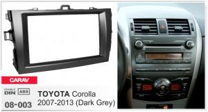 Переходная рамка Toyota Corolla Carav 08-003