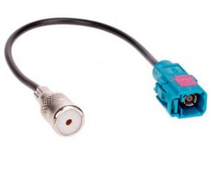 Антенный разъем штатной магнитолы Audi, Skoda, Seat, Volkswagen ACV 1521-02