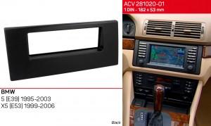 Переходная рамка BMW 5, E39, X5, E53 ACV 281020-01
