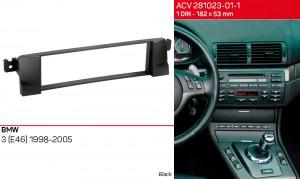 Переходная рамка BMW 3, E46 ACV 281023-01-1