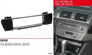 Переходная рамка BMW X3 (E83) ACV 281023-05