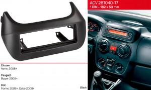 Переходная рамка Citroen Peugeot Fiat ACV 281040-17