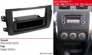 Переходная рамка Suzuki SX4 ACV 281094-17
