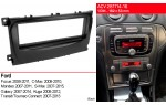Переходная рамка Ford Focus, Mondeo, S-Max, C-Max, Galaxy, Kuga ACV 281114-16