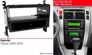 Переходная рамка Hyundai Tucson ACV 281143-04