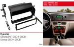 Переходная рамка Hyundai Sonata, Sonica ACV 281143-06
