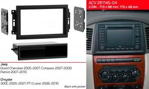 Переходная рамка Jeep, Chrysler ACV 281145-04