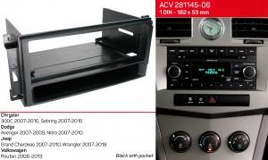 Переходная рамка Chrysler, Dodge, Jeep ACV 281145-06