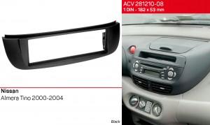 Переходная рамка Nissan Almera Tino ACV 281210-08