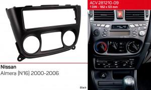 Переходная рамка Nissan Almera ACV 281210-09