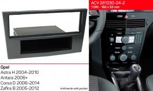 Переходная рамка Opel Astra, Antara, Corsa, Zafira ACV 281230-24-2