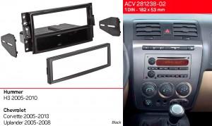 Переходная рамка Hummer H3 ACV 281238-02