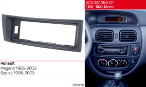 Переходная рамка Renault Megane, Scenic ACV 281250-01