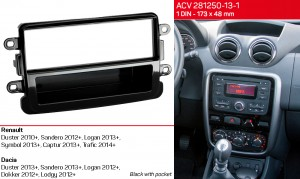Переходная рамка Dacia Duster, Sandero, Logan, Dokker, Lodgy ACV 281250-13-1
