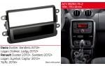 Переходная рамка Renault Duster, Sandero, Logan, Trafic ACV 281250-13-2