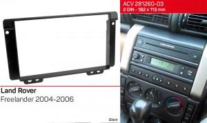Переходная рамка Land Rover Freelander ACV 281260-03