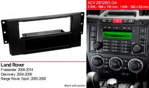 Переходная рамка Land Rover Freelander, Discovery, Range Rover Sport ACV 281260-04
