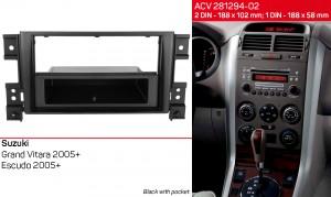 Переходная рамка Suzuki Grand Vitara ACV 281294-02