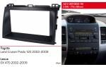 Переходная рамка Toyota LC Prado 120, Lexus GX 470 ACV 281300-16