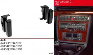 Переходная рамка Audi A4, A6, A8 ACV 281320-01