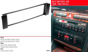 Переходная рамка Seat Toledo, Leon ACV 281320-08