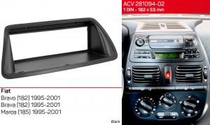 Переходная рамка Fiat Bravo, Brava, Marea ACV 281094-02