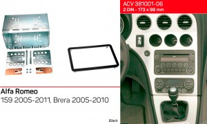 Переходная рамка Alfa Romeo 159, Brera ACV 381001-06