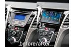 Переходная рамка Hyundai i-30, Elantra GT ACV 381143-32