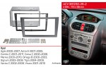 Переходная рамка Opel ACV 381230-26-2
