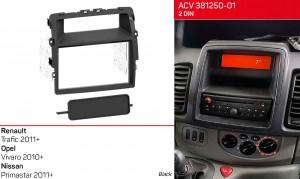 Переходная рамка Renault, Opel, Nissan ACV 381250-01