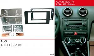 Переходная рамка Audi A3 ACV 381320-14 Кit