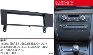 Переходная рамка BMW 1 Series, 3 Series, X1, Z4 ACV 281023-03