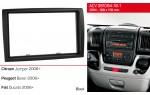 Переходная рамка Citroen Jumper, Peugeot Boxer, Fiat Ducato ACV 381094-18-1