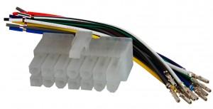 Разъем для магнитолы универсальный для магнитол 14 pin AWM 120-02